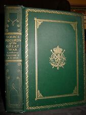 1923 Source Records Of The Great War, WWI The Marne, Trench Warfare, Ypres, 1914