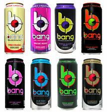Vpx Bang Energy Drinks 12 Pack - 20 Flavors To Choose - Free Shipping
