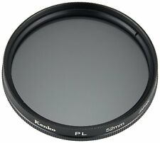 Kenko 52mm LINEAR Polarizer PL Glass Lens Filter Authorized USA Dealer K-52PL