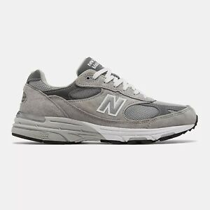 NWB New Balance Mens Made in US 993 Grey with white Standard FREE SHIPPING