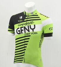 BIEMME Gran Fondo Men's XS New York Super Prestige Cycling Jersey Green/Black