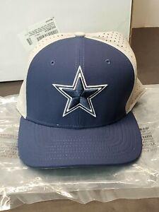 Nike Men Dallas Cowboys Performance L91 Mesh Back Swoosh Flex Hat L/XL
