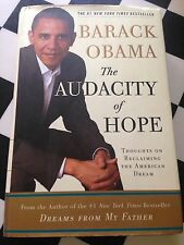 Barack Obama authentic signed autograph hardcover Audacity of Hope book 1st ed