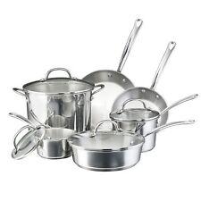 Farberware Millennium Stainless Steel 10-Piece Cookware Set
