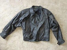 Leather Motorcycle Jacket, Men's Medium