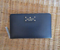 Kate Spade New York Wallet Travel Wellesley French Navy NEW $248