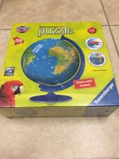 NEW in BOX Ravensburger 3D World jigsaw Puzzle Comes with display stand