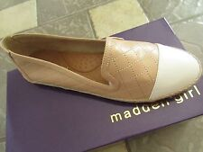 NEW STEVE MADDEN PASSSION NUDE PARIS FLAT SHOES WOMENS 11 FREE SHIP!
