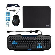 teclado y raton Bluestork Gaming Pack con alfombrilla BS-GKB-PACK Español