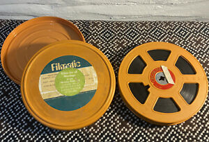 A MUPPET MEETING ON A VINTAGE CECOLITE 16mm 400ft FILM REEL & TIN