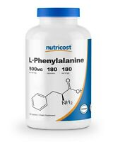 Nutricost L-Phenylalanine 500mg 180 Caps