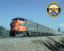 Southern Pacific F-Unit Train Sturdy Metal Sign