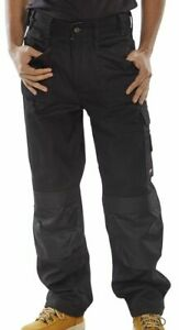Click Premium Multi Pocket Work Trousers With Duratex Kneepad Pockets- Cpmpt