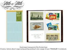 Midori Film Pocket Sticker | Refill Midori 023 Traveler's Notebook Regular Size