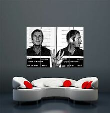 STEVE MCQUEEN MOVIE FILM STAR MUGSHOT GIANT POSTER ART PRINT X3291