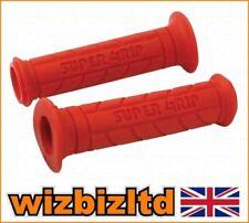 Guidons, poignées et leviers rouges pour motocyclette avec offre groupée personnalisée