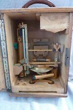 Ancien instrument de mesure Théodolite J L Sanguet inventeur constructeur Paris