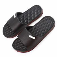 Mens Slip On Sport Slide Sandals Flip Flop Shower Shoes Slippers Pool Gym  ' New
