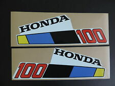 Honda 1985 10 hp BF 100 Outboard Motor Cover Decal Kit