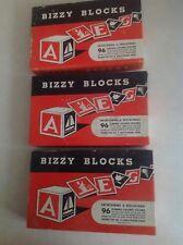 Vintage Bizzy Blocks