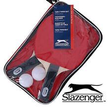 New Slazenger Table Tennis Set with 2 Bats,2 Balls & Bag