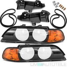 BMW E39 Scheinwerfer Gehäuse Scheinwerfer Blinker Orange+2x DICHTUNG +2x HALTER
