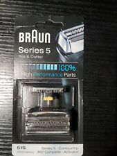 Braun Series 5 Foil & Cutter Replacement Head 51S ContourPro OEM Germany New