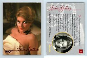 Ladies Gallery #81 James Bond Connoisseurs Collection 1996 Inkworks Card