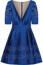 Temperley London Silk Cut Out Luz Dress UK 14 $1,500