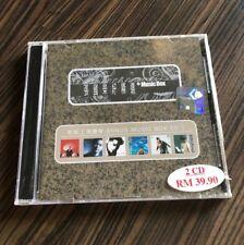 張國榮张国荣 Leslie cheung 好精選 好精选+Music Box 大马版 马来西亚 malaysia Press 全新