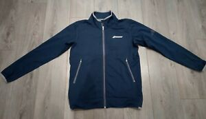 Babolat Navy Tennis Jacket Size M - Good Condition