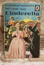 Vintage Ladybird Well Loved Tales Cinderella  ©1964 Matt Hardback Book 606D Tblo