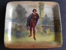Royal Doulton Shakespearean sandwich cake plate/tray ROMEO D3956