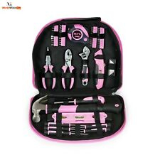 Pink Lady Laides Women Girls Tool Set Pouch 103 Piece kit Mother Gift Household