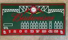 St. Louis Cardinals decor, Busch stadium scoreboard, Cardinals scoreboard