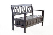 Chaises de jardin et de terrasse gris en bois