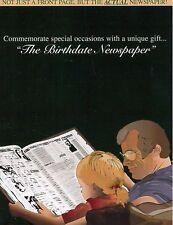 1908 1918 1928 1938 1948 1958 1968 1978 1988   Original Birthday Newspaper Gift