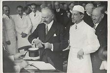 PROFESSEUR ROUSSY DIRECTEUR DE L'INSTITUT DU CANCER 1934 LOT 3 PHOTOGRAPHIES