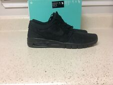 Nike SB Stefan Janoski Max Black Skateboarding Shoes [631303-099] Mens Size 8
