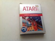 Realsports Volleyball Atari 2600 Game Cartridge Cx2666 With Manual