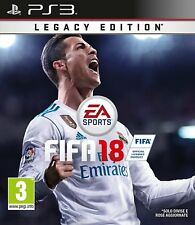 VIDEOGAME FIFA 18 LEGACY EDITION PS3 ITALIANO PAL PLAYSTATION 3 EDIZIONE DISCO