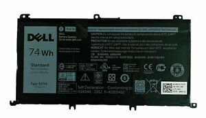 NEW DELL INSPIRON 15 5576 5577 7557 7559 7566 7567 74WH BATTERY 357F9 71JF4