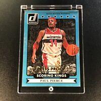 PAUL PIERCE 2014 DONRUSS #6 SCORING KINGS PRESS PROOF #'D /10 NBA FUTURE HOF