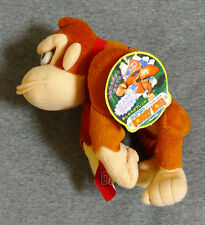 "Super DONKEY KONG - DK 8.5"" Talking Plush JAPAN 1994 Prize YUJIN country RARE"