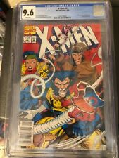 X-Men #4 1st Omega Red CGC 9.6 Newsstand White Pages looks 9.8!