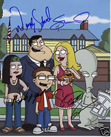 AMERICAN DAD ENTIRE CAST AUTOGRAPH SIGNED PP PHOTO POSTER