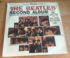 THE BEATLES SECOND ALBUM - Vintage vinyl LP record album Capitol ST 1080