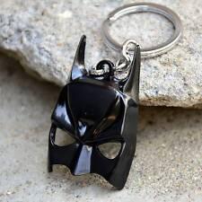 DC Comics Superhero Car Keychains Batman Black Mask Keychain Pendant Key Ring