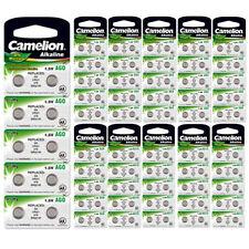 Camelion AG0 bis AG13 Piles de montres Alcaline bouton Argent rapide gratuit Neu