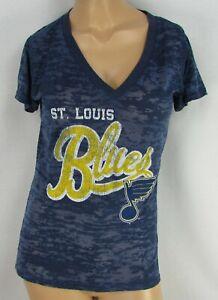St Louis Blues NHL Women's G-III Short Sleeve Shirt